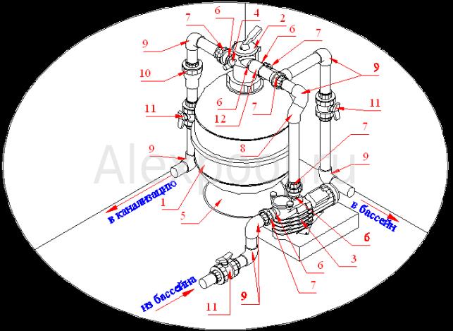 Схема монтажа: granada606