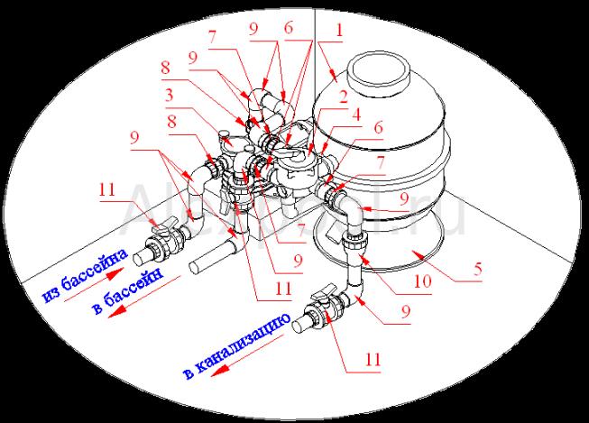 Схема монтажа: granadaglo5061