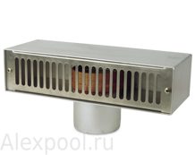 Арматура перелива Overflow/return box 100 E