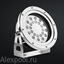 UL900-RGB Submersible LED Light 57W/24LED/12- 24VDC/1cab.o./3m
